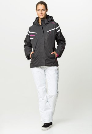 WOMAN SKI PANT - Spodnie narciarskie - bianco