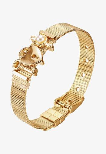 ARMBAND MESH - Bracelet - gold-coloured