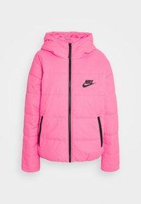 pink glow/black