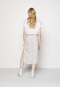 Hollister Co. - A-line skirt - white - 2