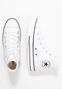 Converse - CHUCK TAYLOR ALL STAR - Sneakers hoog - white/black - 3