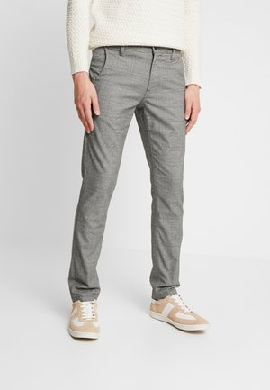 SLHSLIM STORM FLEX SMART PANTS - Tygbyxor - grey