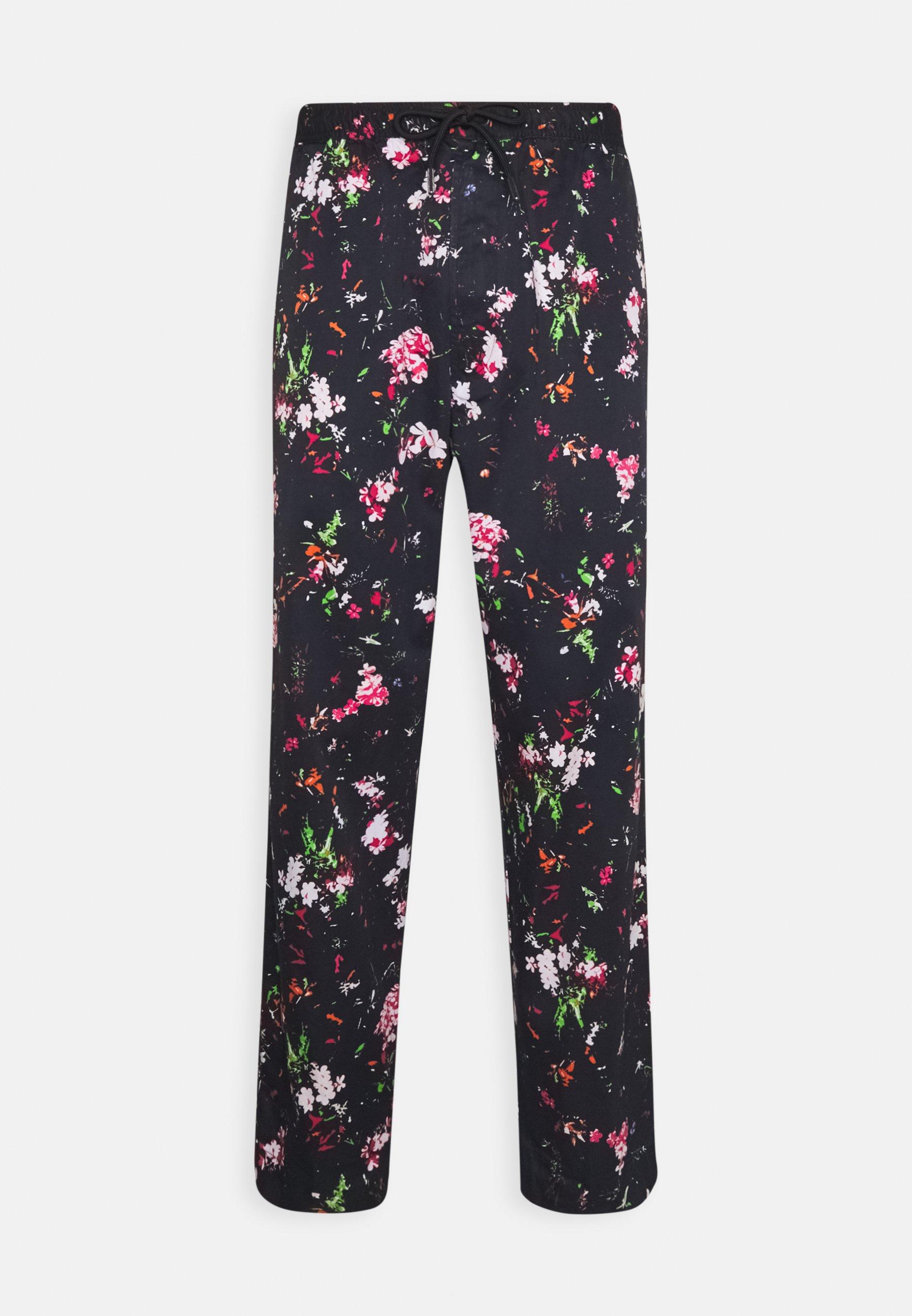 Uomo P-TOLLER FLOWER - Pantaloni
