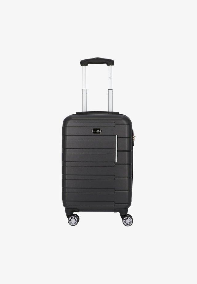 MÜNCHEN - Wheeled suitcase - schwarz/grau