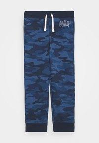 GAP - BOY HERITAGE LOGO  - Træningsbukser - blue - 0