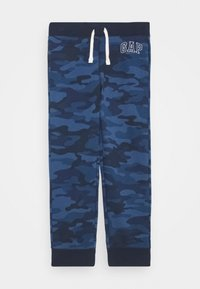 GAP - BOY HERITAGE LOGO  - Tracksuit bottoms - blue - 0
