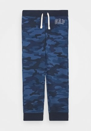 BOY HERITAGE LOGO  - Tracksuit bottoms - blue