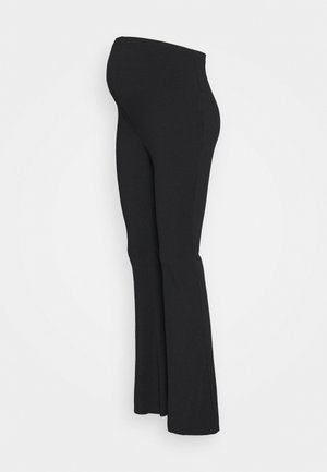 FLARES - Pantalones - black