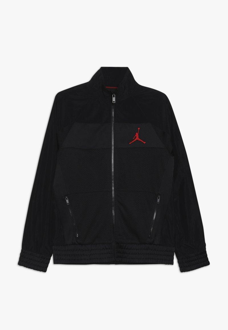 Jordan - AIR JORDAN SUIT JACKET - Sportovní bunda - black