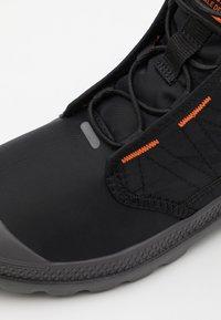 Palladium - PAMPA TRAVEL LITE UNISEX - Lace-up ankle boots - black - 5