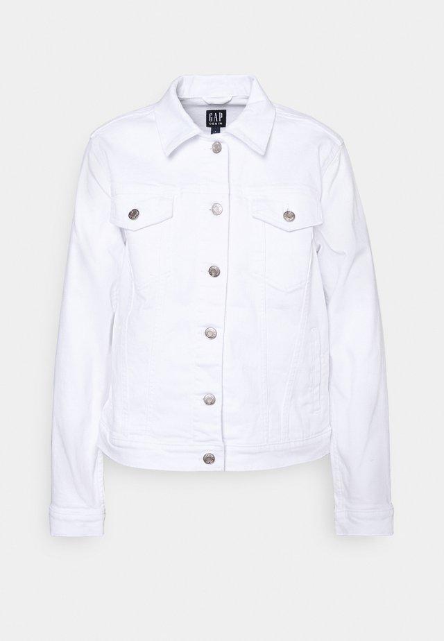 ICON JACKET HOT DOOR - Kurtka jeansowa - optic white