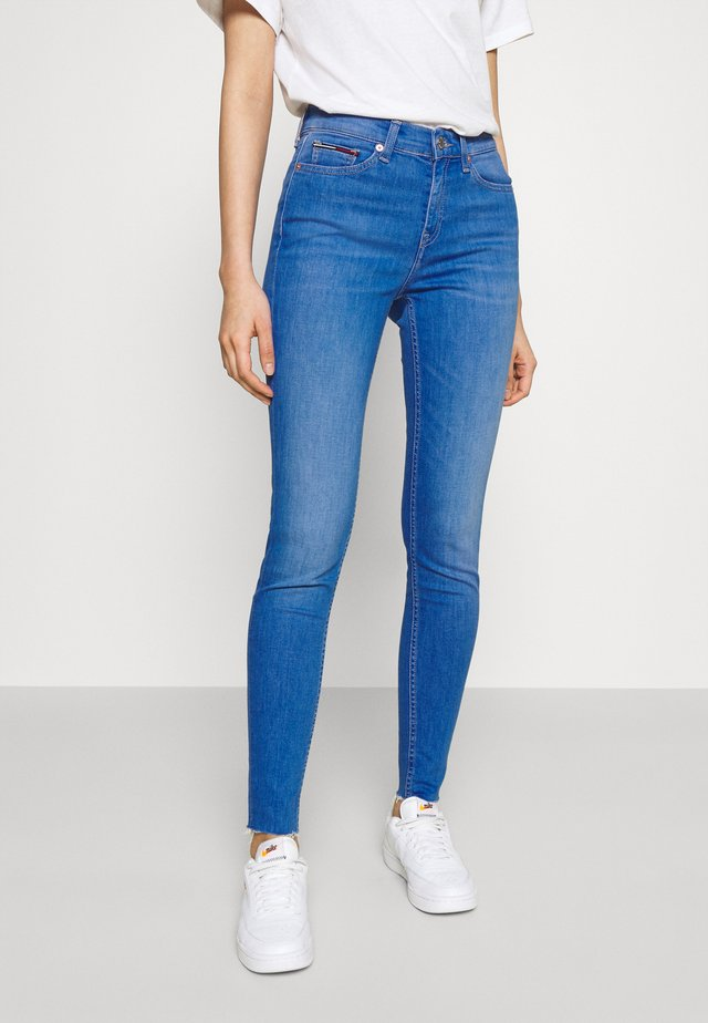 NORA ANKLE - Jeans Skinny - blue denim