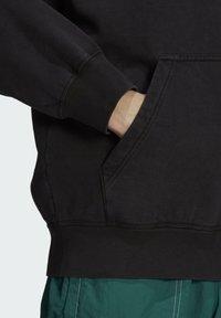 adidas Originals - DYED HOODY ORIGINALS SWEATSHIRT HOODIE - Sweat à capuche - black - 5