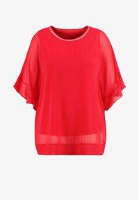 Samoon - 2-IN-1 BLUSE IM LEGEREN STYLE - Basic T-shirt - watermelon - 2