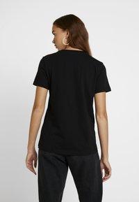 Diesel - T-SILY-WX MAGLIETTA - Print T-shirt - black - 2
