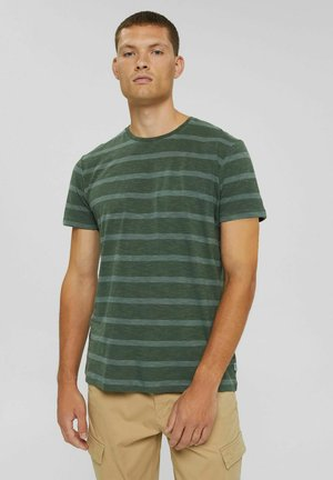 REGULAR FIT - Print T-shirt - teal blue