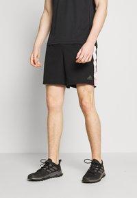 adidas Performance - SATURDAY SHORT - Sportovní kraťasy - black - 0