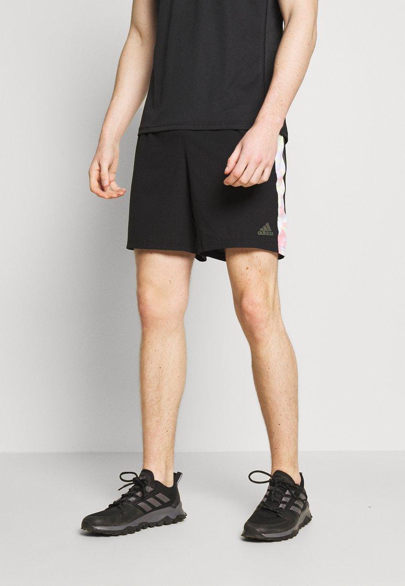 adidas Performance - SATURDAY SHORT - Sportovní kraťasy - black