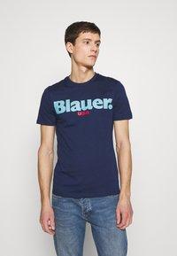 Blauer - MANICA CORTA - T-shirt med print - blu zaffiro - 0