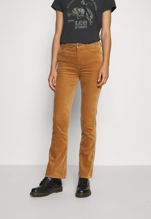 BREESE BOOT - Trousers - tobacco brown