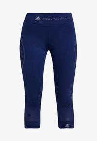 adidas by Stella McCartney - ESSENTIALS SPORT CLIMALITE 3/4 LEGGINGS - 3/4 sports trousers - dark blue - 5
