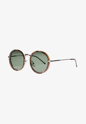 PONZ - Occhiali da sole - matt brown/tortoise