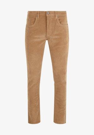 Spodnie materiałowe - kelp