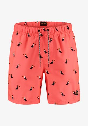 Swimming shorts - neon orange