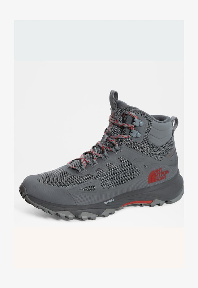 W ULTRA FASTPACK IV MID FUTURELIGHT - Chaussures de marche - high rise grey/horizonred