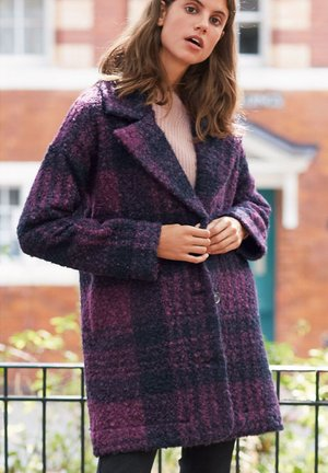 COATIGAN - Winter coat - purple