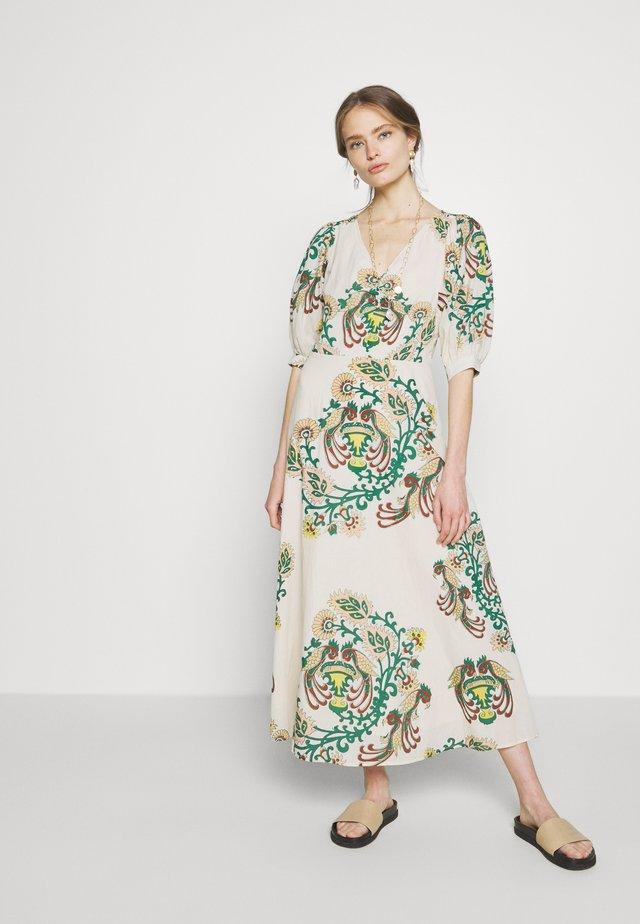 NUR - Korte jurk - poudre