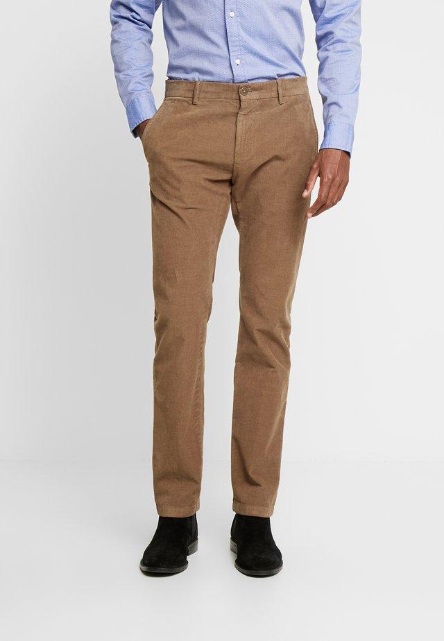 RYPTON - Spodnie materiałowe - camel