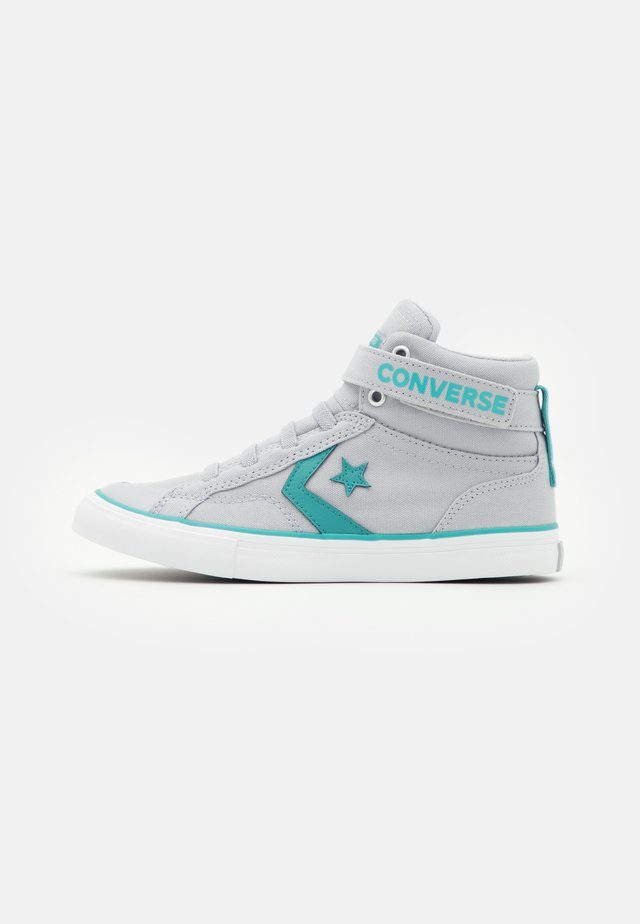 PRO BLAZE STRAP SUMMER UNISEX - High-top trainers - gravel/harbor teal/white