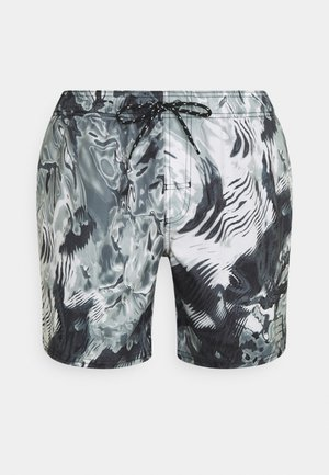 SWIM MEN REFLECTION MID - Plavky - black combo