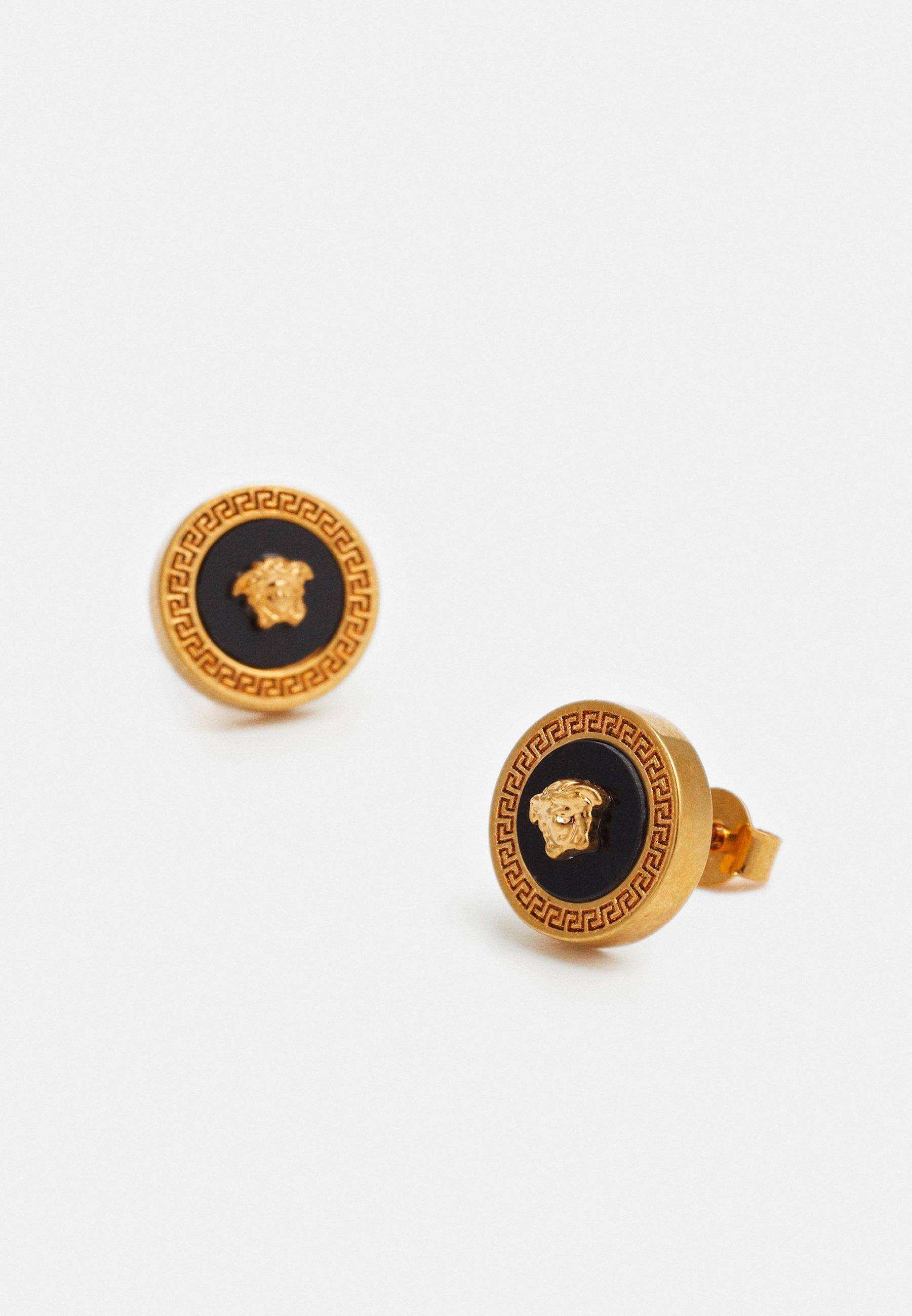 Versace Boucles d'oreilles - nero/oro tribute
