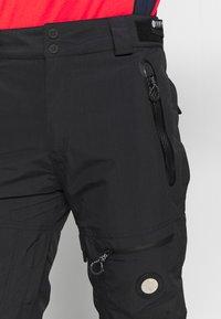 Superdry - PRO RACER RESCUE PANT - Spodnie narciarskie - onyx black - 4