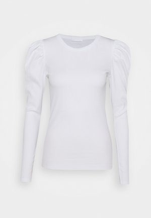 OLENKA - Top sdlouhým rukávem - bright white