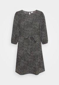 JDYPIPER 3/4 PUFF DRESS - Denní šaty - black