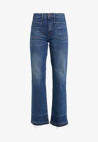 JENN - Široké džíny - dark indigo