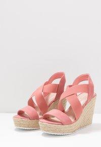 Madden Girl - ROSEWOD - High heeled sandals - blush/multicolor - 4
