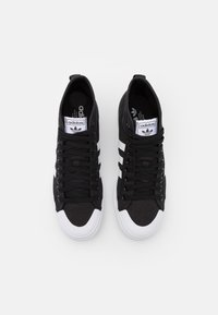 adidas Originals - NIZZA PLATFORM MID - High-top trainers - core black/footwear white - 4