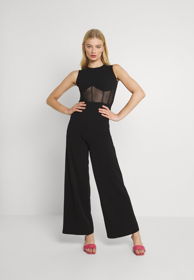HALSEY - Jumpsuit - black