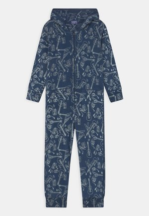 BOYS ONESIE CACTUS - Pyžamo - blue