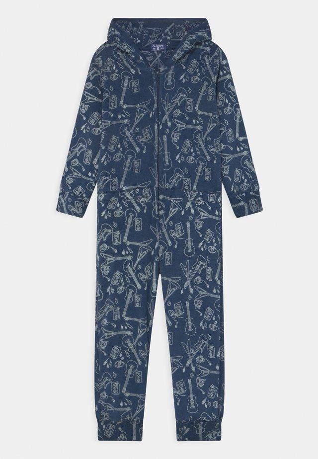 BOYS ONESIE CACTUS - Pyjama - blue