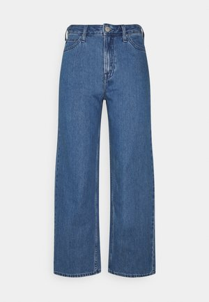 WIDE LEG - Jeans relaxed fit - mid stone