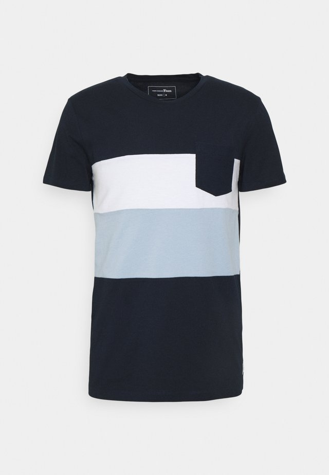 CUTLINE  - T-shirt con stampa - sky captain blue