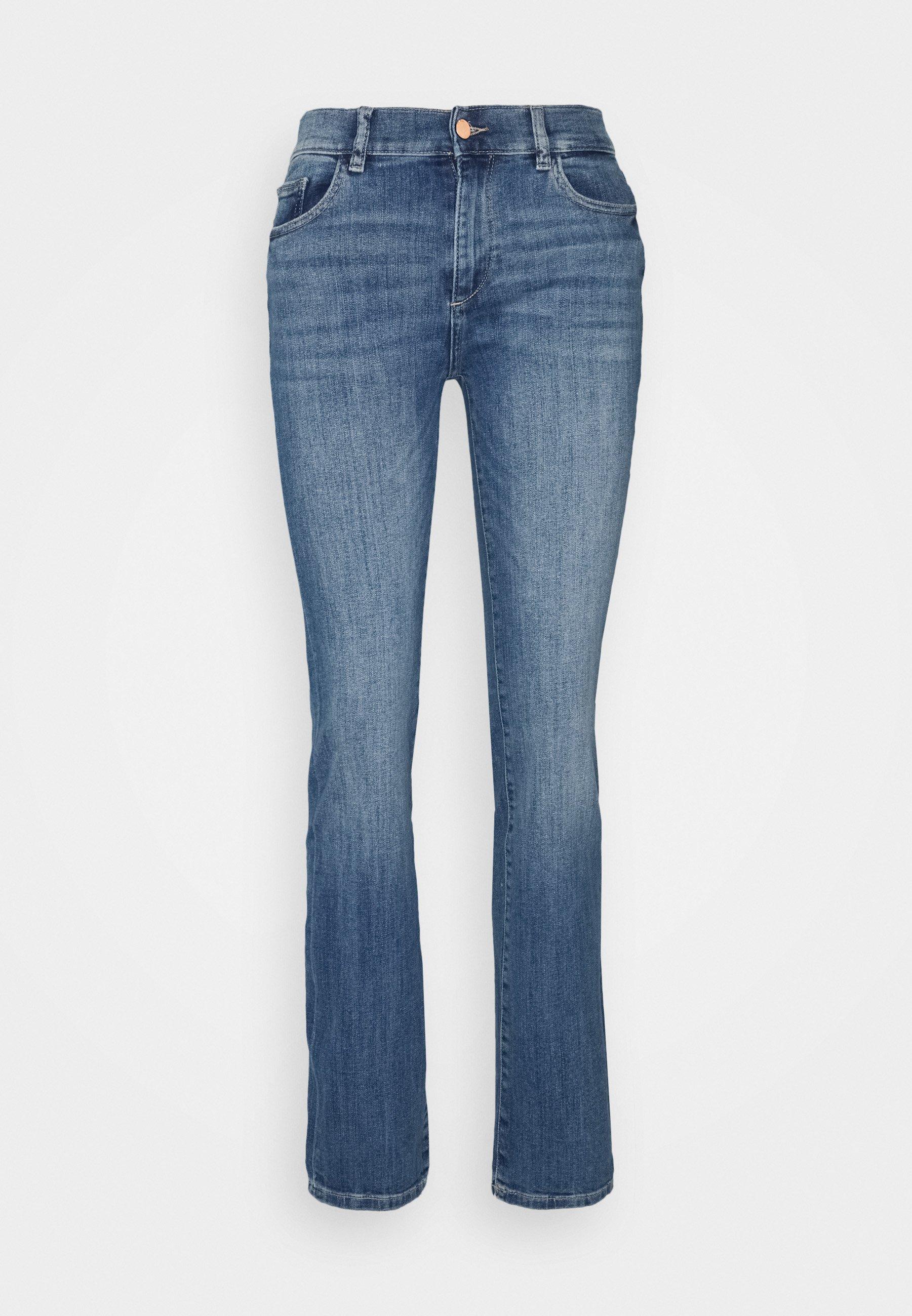 Women MARA STRAIGHT MID RISE INSTASCULPT  - Straight leg jeans