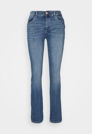 MARA STRAIGHT MID RISE INSTASCULPT  - Jeans straight leg - rockford performance