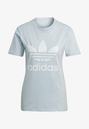 ADICOLOR CLASSICS TREFOIL T-SHIRT - Print T-shirt - blue