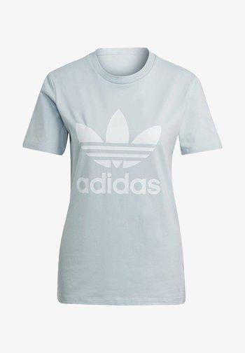 ADICOLOR CLASSICS TREFOIL T-SHIRT - T-shirt print - blue